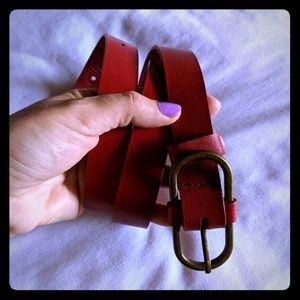 Accessories - Beautiful Bright Red Belt